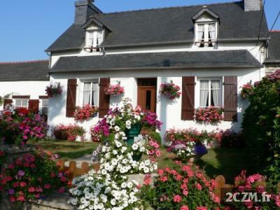 Location le  Grand  Hortensia PLEYBEN centre FINISTERE